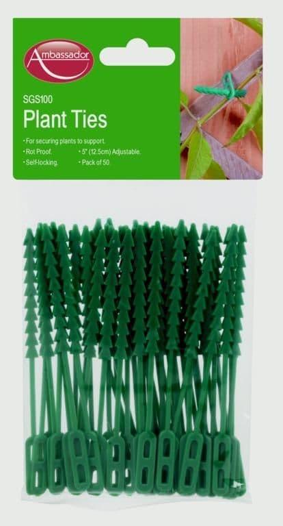 Ambassador Adjustable Plant Ties - 33cm